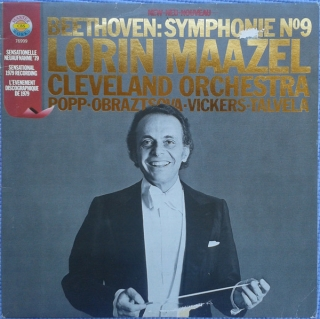 BEETHOVEN. LORIN MAAZEL, CLEVLAND ORCHESTRA